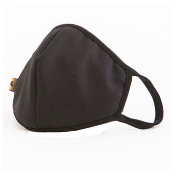 Keeping it in Style! Solid Black Face Masks - Covid 19