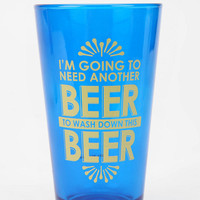 Its a Wash Pint Glass