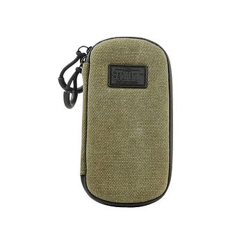 RYOT Slym Case Carbon Series with SmellSafe and Lockable Technology in Olive