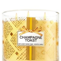 3-Wick Candle Champagne Toast