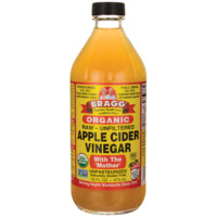 Bragg Organic Apple Cider Vinegar 16 fl oz (473 mL) Liquid - Swanson Health Products