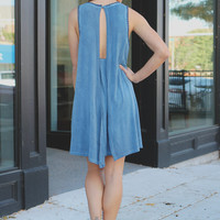 Wild Winds Dress - Cobalt