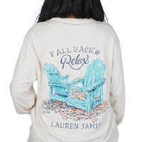 Lauren James Fall Back and Relax Tee