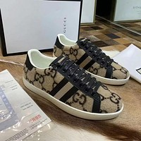 GUCCI GG pattern casual shoes