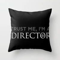 For the Director Pillow Cover