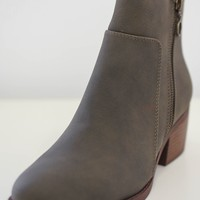 Bowie Booties - Olive