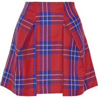 Vivienne Westwood Anglomania Trail tartan wool mini skirt – 50% at THE OUTNET.COM