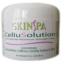 SkinSpa Cellulite Cream with Vitamin C and Caffeine - Stretch Mark Reducer on Arms, Legs, Stomach and Buttocks - This Anti Cellulite Treatment Contains Collagen, Elastin for Skin Protection