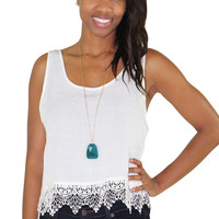 Peace of Mind White Top