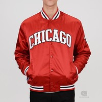 Mitchell & Ness Third Quarter Satin Jacket | Caliroots - The Californian Twist of Lifestyle and Culture