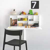 Spacebox Wall Mounted Storage Table & Calligaris Spacebox Table | YLiving