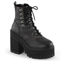 Demonia | Assault 100 Ankle Boot - Tragic Beautiful buy online from Australia
