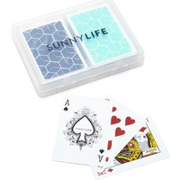 Lennox Waterproof Playing Cards Set of 2