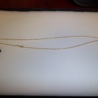 14 Kt. Gold Chain Twist-Link Style Necklace, 18 Inch Length