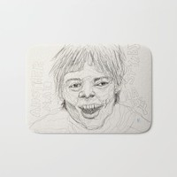 Another Man, Harry Styles Bath Mat by Alayna H.