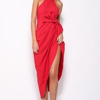 Ceremony Maxi Dress Red