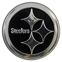 Pittsburgh Steelers Silver Auto Emblem