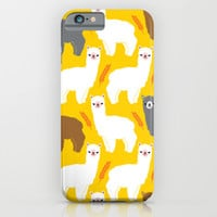 The Alpacas iPhone & iPod Case by Littleoddforest