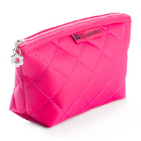 Pink Beauty Bag: Holds Makeup Brushes, Pencils & Gloss only at | BH Cosmetics!