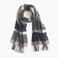 J.Crew Mens Cashmere Scarf In Plaid