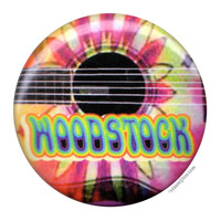Woodstock Guitar Button on Sale for $0.99 at HippieShop.com