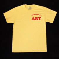 Powered by ART Unisex Shirt S-2XL