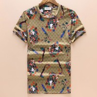 Gucci Fashion Casual Shirt Top Tee-146