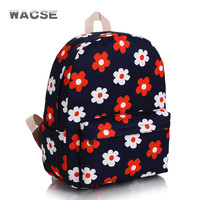 Canvas Fashion Stylish Casual Travel Backpack =