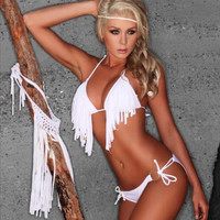 Sexy Tassel Bikini - Turn Heads, Get Noticed!