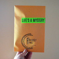 Large Feminist Mystery Pack: stickers, patches, jewelry, pins