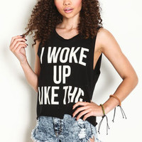 Wake Up Graphic Tee - LoveCulture