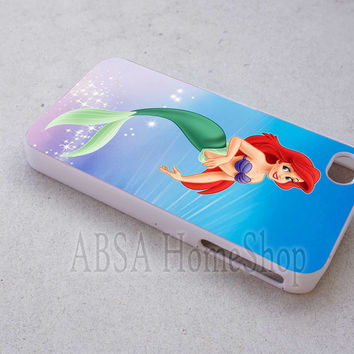 ariel little mermaid case sell online for iPhone 4/4s/5/5s/5c/6/6+ case,iPod Touch 5th Case,Samsung Galaxy s3/s4/s5/s6Case, Sony Xperia Z3/4 case, LG G2/G3 case, HTC One M7/M8 case