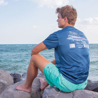 Southern Marsh FieldTec Outfitter Collection - Wahoo - Short Sleeve