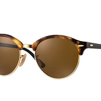 Ray-Ban CLUBROUND CLASSIC Tortoise Black, RB4246 | Ray-Ban® USA