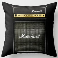 Marshall Amplifier Pillow Case