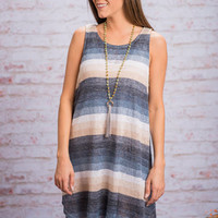 Into The Water Dress, Indigo