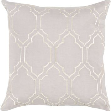 Skyline Throw Pillow Gray, Neutral