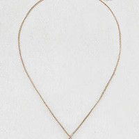 AEO Moon Charm Necklace , Gold