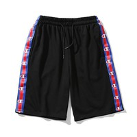 Champion Women Men Casual Sport Shorts-9
