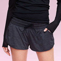 Lorna Jane Stay Cool Run Short, Charcoal Heather