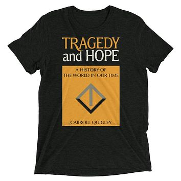 Tragedy and Hope Vintage Tri-Blend Unisex Graphic T-Shirt