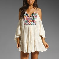 Jen's Pirate Booty Guipil Summer Sun Dress in Natural from REVOLVEclothing.com