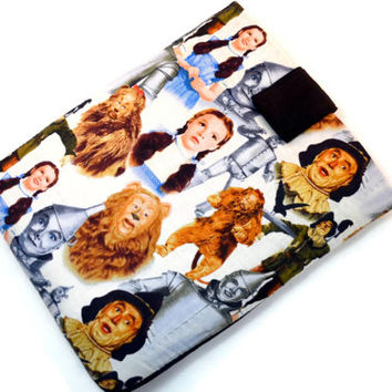 Hand Crafted Tablet Case From Wizard of Oz Fabric /Case for: iPad, Kindle Fire HD, Samsung Galaxy, Google Nexus, iPad Air, iPad Mini