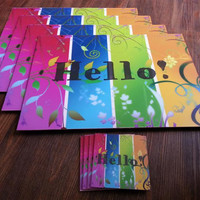 Greetings Placemats Set of 4 - Hello