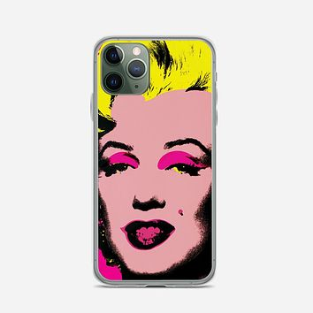Andy Warhol Marilyn Monroe Pop Art Iconic Colorful Superstar Cute iPhone 11 Pro Max Case