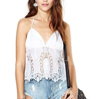 Nasty Gal Back in the Saddle Top