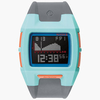 Nixon Lodown S Watch Light Blue/Charcoal/Pink One Size For Men 25957695701