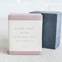 Black Soap with Charcoal and Patchouli – Spartan Shop