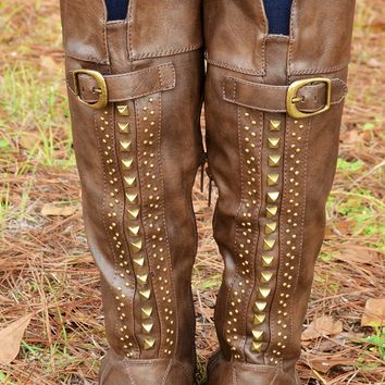All Alright Boots: Chocolate