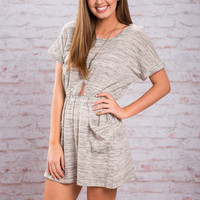 Loving Is Easy Dress, Heather Gray